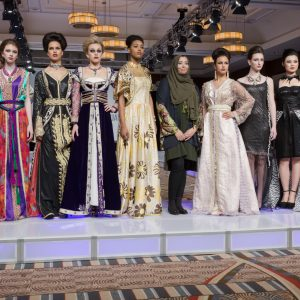 HOUDA EL FECHKA EDDIOUANE AT COUTURE FASHION WEEK NEW YORK